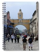 Antigua Street Scene Spiral Notebook