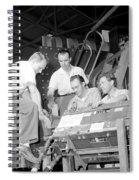 Antineutron Discovery Team, 1956 Spiral Notebook