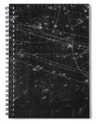 Antiproton Annihilation, Bubble Chamber Spiral Notebook