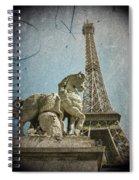 Antiquation Spiral Notebook