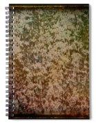 Antique Amber Orange Parade Spiral Notebook