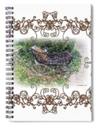 Antique Baby Carriage Spiral Notebook