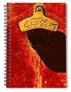 Antique Bottle Opener 3 Spiral Notebook