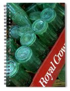 Antique Bottles Spiral Notebook