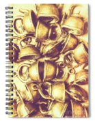 Antique Cafe Composition Spiral Notebook