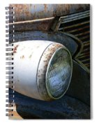 Antique Car Headlight Spiral Notebook