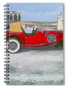 Antique Car Spiral Notebook