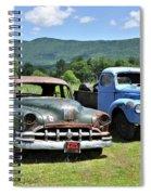 Antique Cars  Spiral Notebook
