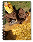 Antique Corn Sheller Spiral Notebook