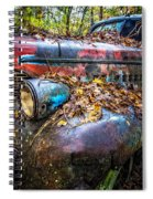 Antique Spiral Notebook