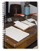 Antique Desk Spiral Notebook