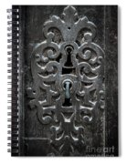 Antique Door Lock Spiral Notebook