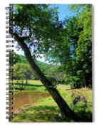 Antique Farm Equipment 4 Spiral Notebook