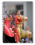 Antique Fire Truck Spiral Notebook