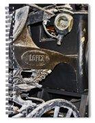 Antique Hearse Spiral Notebook
