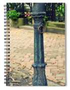Antique Hitching Post Spiral Notebook