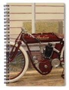 Antique Indian Motorcycle Red...   # Spiral Notebook