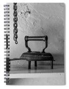 Antique Irons Spiral Notebook