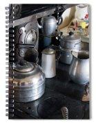 Antique Kitchen Stove Spiral Notebook