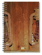 Antique Lamps Spiral Notebook