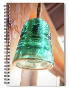 Antique Light Fixture 2 Spiral Notebook