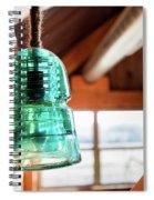 Antique Light Fixture 3 Spiral Notebook