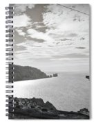 Antique Needles Isle Of Wight Spiral Notebook