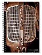 Antique Oliver 70 Spiral Notebook