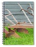 Antique Plows Spiral Notebook