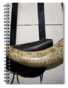 Antique Powder Horn Spiral Notebook