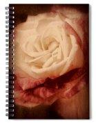 Antique Rose - In Full Bloom Spiral Notebook