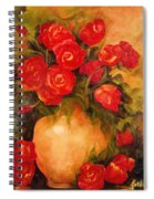 Antique Roses Spiral Notebook