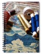 Antique Tapestry Repair  Spiral Notebook