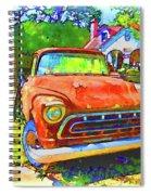 Antique Tow Truck Spiral Notebook
