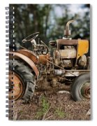Antique Tractor Spiral Notebook