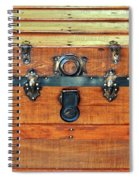 Antique Trunk Spiral Notebook
