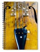 Antique Violin Spiral Notebook