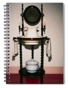 Antique Wash Stand Spiral Notebook
