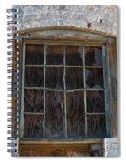 Antique Window Spiral Notebook