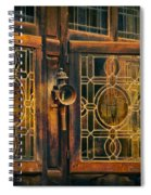 Antique Windows Spiral Notebook