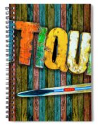 Antiques Spiral Notebook