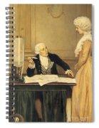 Antoine-laurent Lavoisier Spiral Notebook