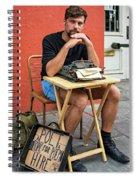 Antoine Spiral Notebook