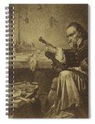 Antonio Stradivari Spiral Notebook