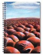 Ant's Eye View Of Sand Spiral Notebook