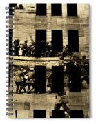 Anzac Pictures Projected In Martin Place 20 Spiral Notebook