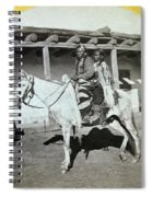 Apache Couple, C1873 Spiral Notebook