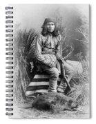 Apache Leader, 1885 Spiral Notebook