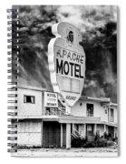 Apache Motel Tucumcari Spiral Notebook