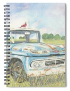 Apache Out To Pasture Spiral Notebook